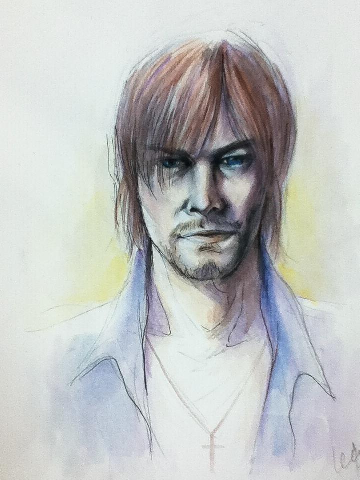 2013 Watercolor, pencil, pen, on paper 9x12