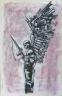 2013 Ink, conte, pastel on Bristol 11x17