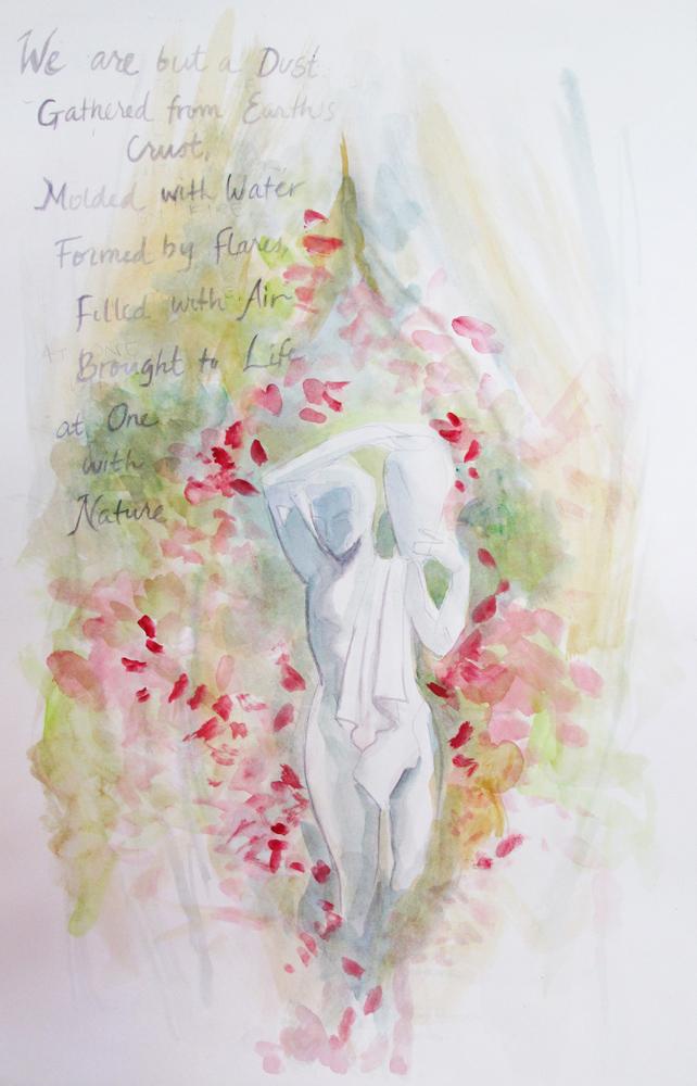 2013 Watercolor, pencil on Bristol 11x17
