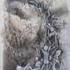 2013 Charcoal conte, watercolor on Bristol 11x17