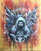 2015 Acrylic, ink, charcoal on wood 16x20