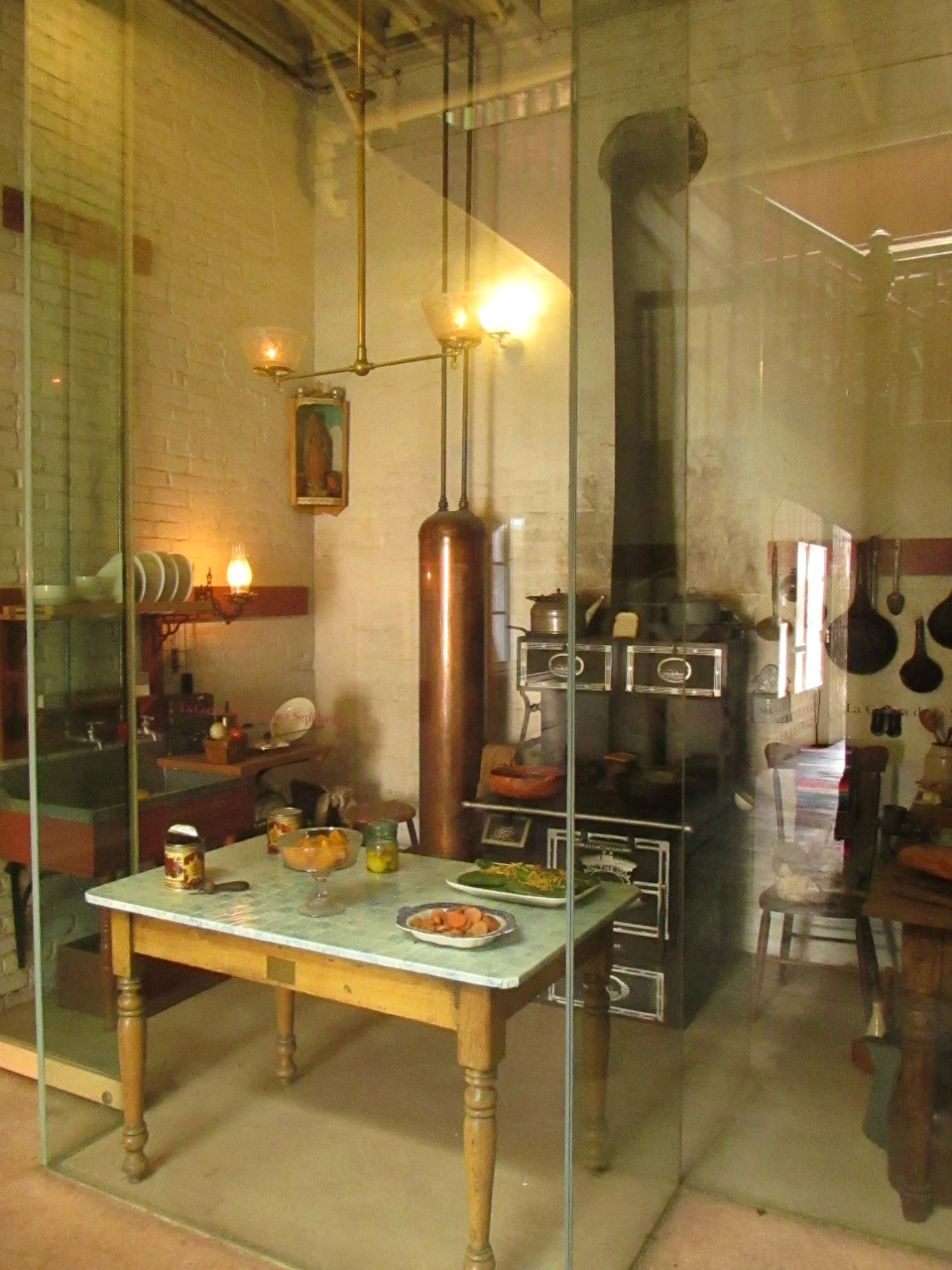 The kitchen of Sepulveda House