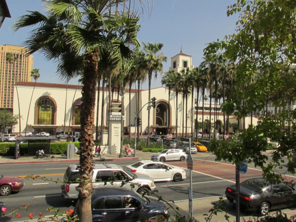 The front of the Union Station