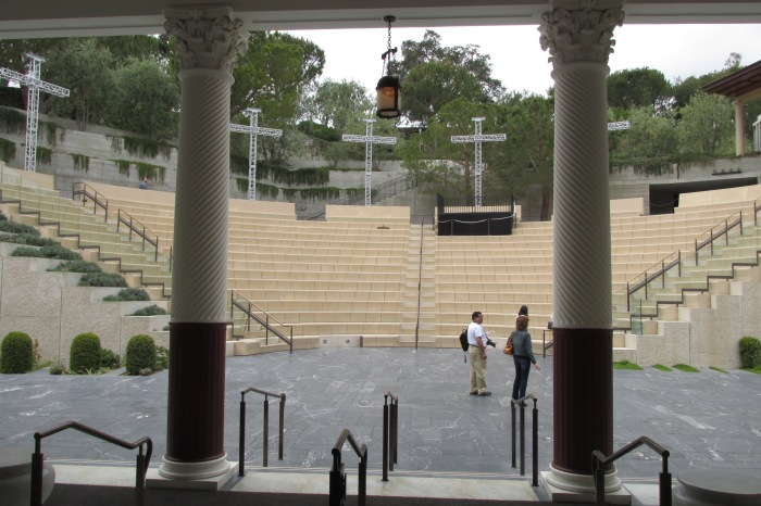 Front view of the amphitheater.