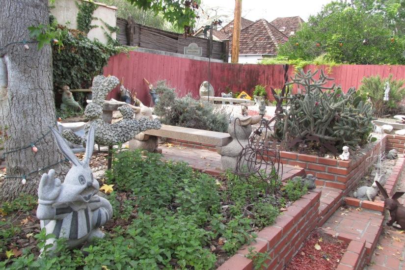 Enter the Bunny Garden!