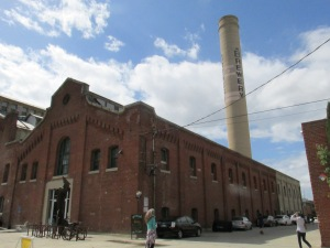 The original building started out as Edison Electric Steam Power Plant, later to Pabst Blue Ribbon Brewery, before being transformed into the largest artist community in the world.