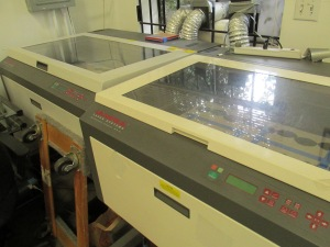 This is that laser cutting machine the artist uses for all his projects. That can't be cheap to maintain. In addition the artist here offers commercial and freelance services with their crafts. After all artists have to make money to support their living...