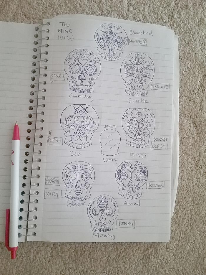 nine_idols_sketch
